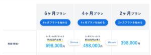 CodeCamp(コードキャンプ)のプレミアムプラスの料金表